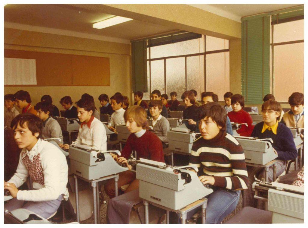 50 màquines d'escriure